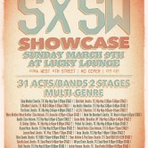 Artists to Watch Unofficial SXSW Showcase