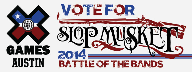 VOTE FOR SLOP MUSKET!!!