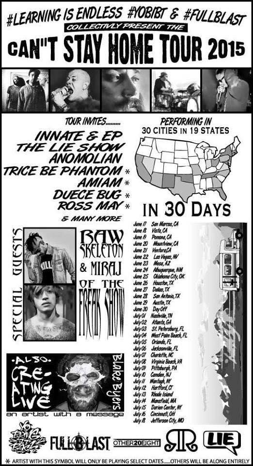 lie show tour